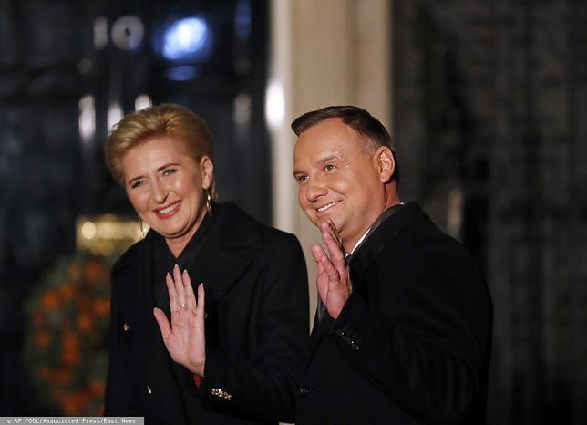 Szczyt NATO w Londynie. Pierwsza wizyta prezydenta Andrzeja Dudy z królową Elżbietą II