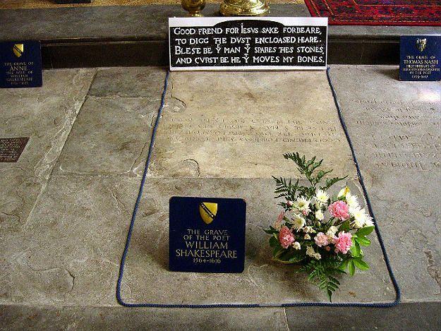 Niezwykłe odkrycie brytyjskich naukowców: w grobie Szekspira brakuje czaszki poety