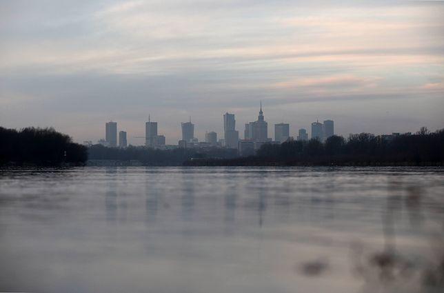 Warszawa. Smog w stolicy 5 listopada 2019 r.