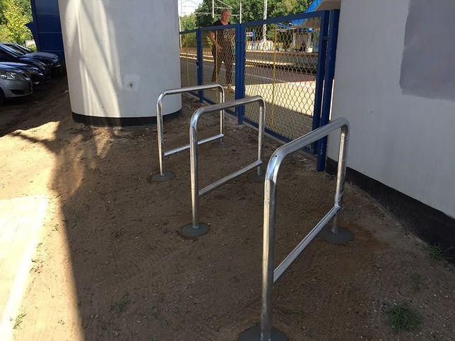 PLK postawią 135 stojaków rowerowych