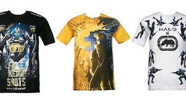 Koszulki z Halo od Ecko są nie-halo