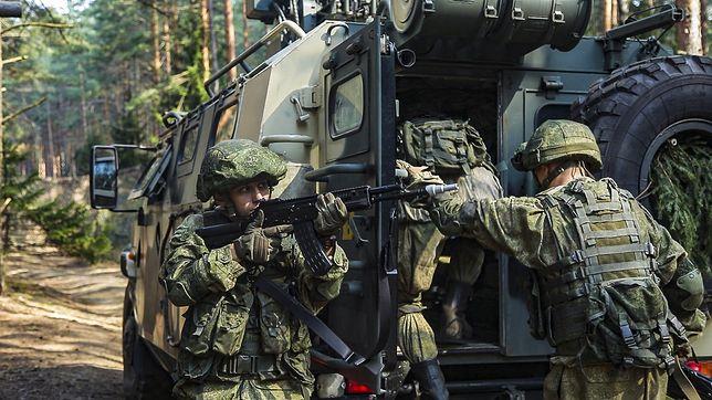 Manewry Zapad-2021 odbywają się m.in. w pobliżu granicy z Polską