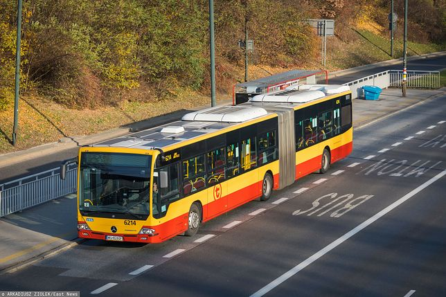 Łódź. Kierowca zasłabł za kierownicą autobusu/ Zdjęcie ilustracyjne