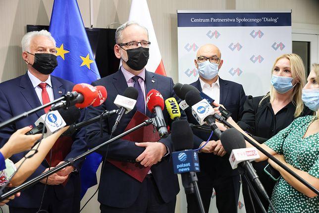 Adam Niedzielski poinformował o wybraniu nowego wiceministra zdrowia. To Piotr Bromber (zdjęcie ilustracyjne)