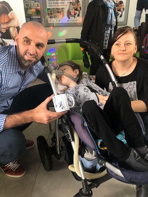 Marcin Gortat spotkał się z podopiecznymi Hospicjum dla Dzieci