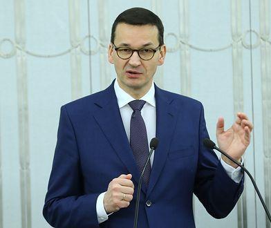 Mateusz Morawiecki, premier rządu PiS
