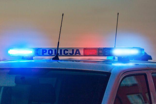 Przestępcę zatrzymano nocą na autostradzie A2