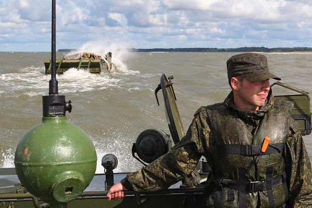 W manewrach na nadbałtyckim poligonie Chmielewka wzięło udział ok. 700 żołnierzy.