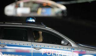 Niemiecka policja zatrzymała 31-letniego Polaka z karabinami maszynowymi