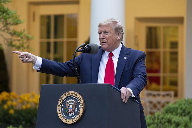 Koronawirus w USA. Donald Trump wstrzymuje finansowanie WHO. Jest odpowiedź ONZ