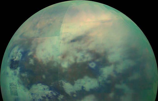 Tytan, księżyc Saturna