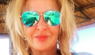57-letnia Majka Jeżowska pozuje w bikini. I do tego te kaktusy!