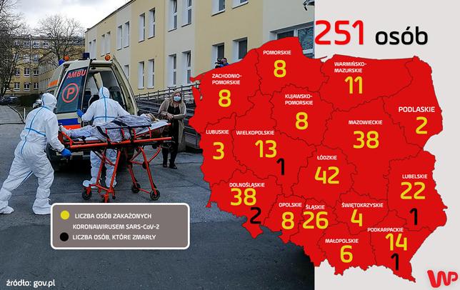 Koronawirus w Polsce. Najnowsze informacje Ministerstwa Zdrowia o nowych przypadkach