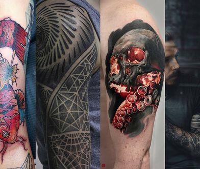 Wzory tatuaży męskich na ramię