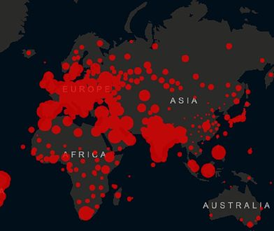 WHO: pandemia koronawirusa wciąż niebezpieczna. Rośnie liczba zgonów na COVID-19 w Europie
