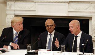 Jeff Bezos powalczy o kontrakt na tworzenie technologii dla armii USA