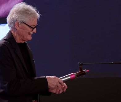 James Dyson osobiście zaprezentował nową lokówkę