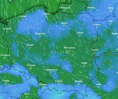 W środę przed południem temperatura zacznie spadać poniżej zera