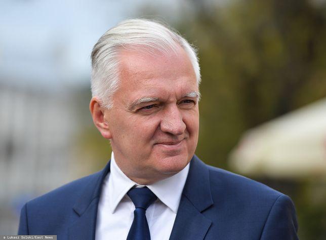 Dobry wynik wyborczy wzmocnił pozycję Jarosława Gowina