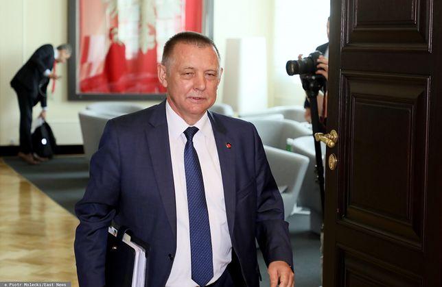 Prezes NIK Marian Banaś wrócił do pracy