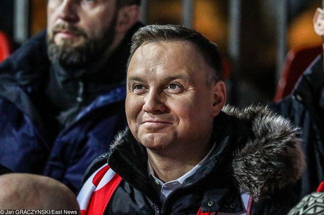 Andrzej Duda jest wielbicielem jazdy na nartach