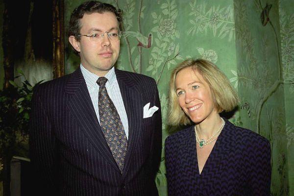 Eva i Hans Kristian Rausingowie w 1996 roku