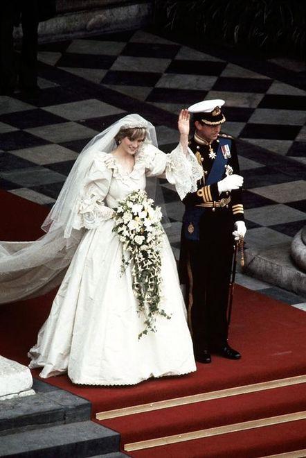 Księżna Diana i książę Karol - 1981 rok