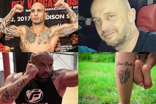 Wzory tatuaży z imionami u gwiazd