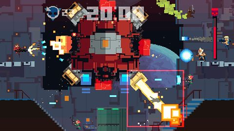 Super Time Force trafi także na pecety