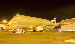 Dziwaczny Airbus Beluga XL już niedługo wzniesie się w powietrze. Silniki przeszły testy
