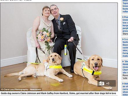 Niezwykła historia miłosna niewidomej pary