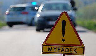 Warszawa. Pijany kierowca zderzył się z autem jadącym pod prąd