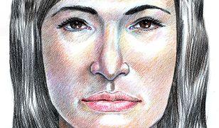 Najnowszy portret pamięciowy kobiety z Isdal, sporządzony przez Stephena Missala. Jeśli wierzyć świadkom, bardzo wiarygodny
