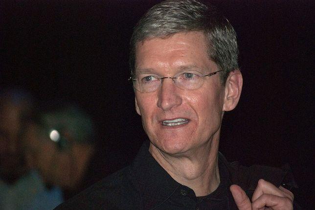 Apple nie szczędzi środków na ochronę Tima Cooka