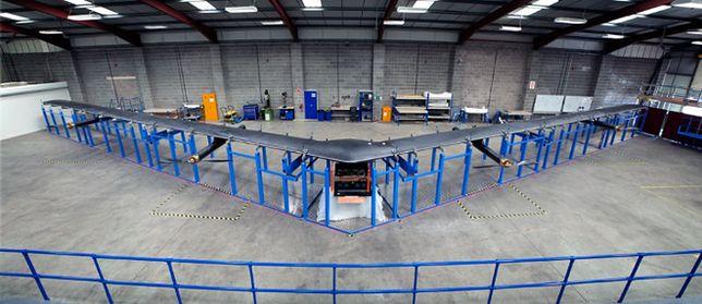 To nie samolot typu stealth. To dron Facebooka