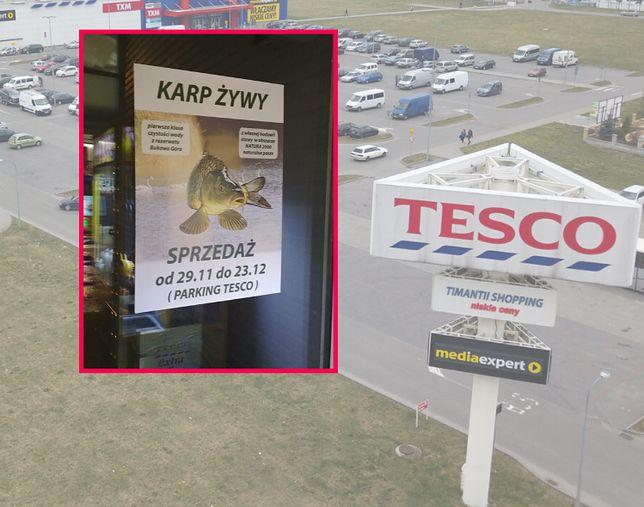 Z jednej strony deklaracja o dobrostanie zwierząt, z drugiej - sprzedaż na parkingu.