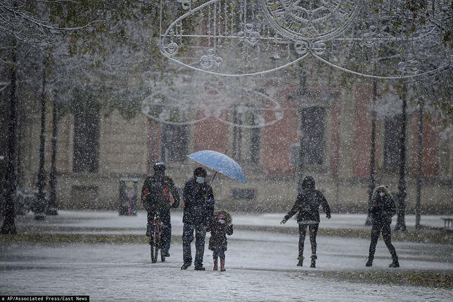 Pogoda. Rekordowo niskie temperatury w Hiszpanii
