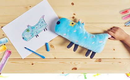 Ikea uszyje zabawki z rysunku dziecka. 20 projektów z Polski powalczy o realizację