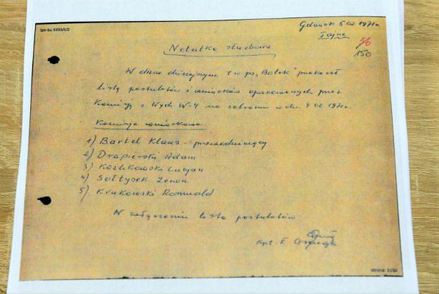 W dokumentach IPN - relacja z rozmowy z Wałęsą nt. wydarzeń grudnia 1970 r.