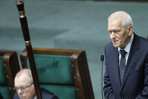 Kornel Morawiecki otwiera pierwsze posiedzenie VIII kadencji