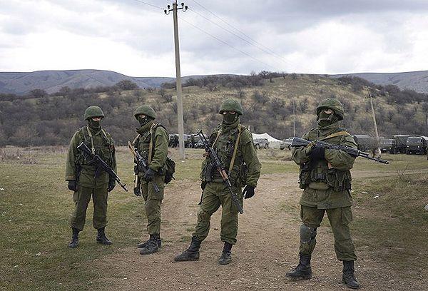 Rosyjski desant na granicy Krymu i obwodu chersońskiego. Ukraińskie MSZ protestuje
