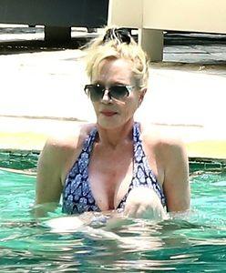 Melanie Griffith: 59-letnia aktorka nie wstydzi się pokazać w bikini