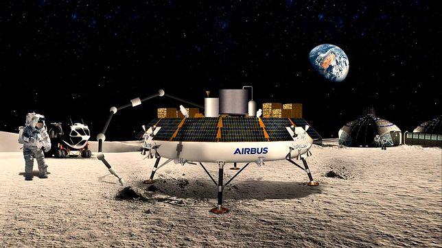 Księżycowy moduł laboratroium Airbusa