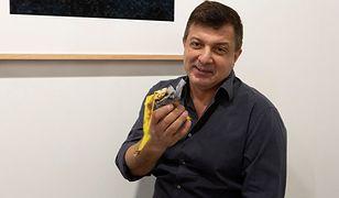 Maurizio Cattelan z bananem