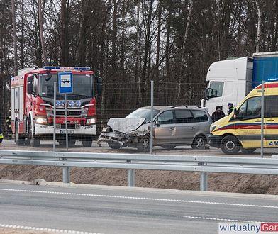 Jedynie kierowcy ciężarówki nic się nie stało