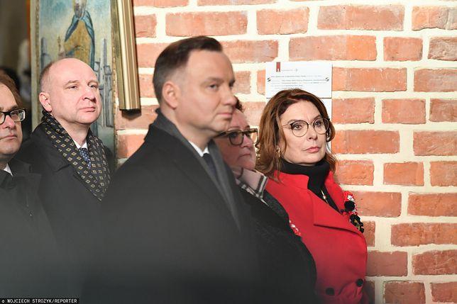 Uroczystości w Pucku. Prezydent Andrzej Duda oraz wicemarszałek Sejmu Małgorzata Kidawa-Błońska