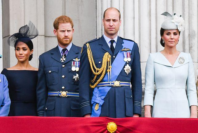 Książę Harry i księżna Meghan pokłóceni z księciem Williamem i księżną Kate