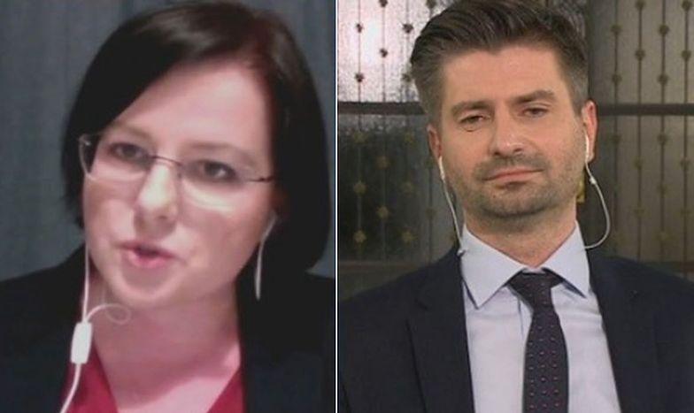 Gorąco w Polsacie. Kaja Godek i Krzysztof Śmiszek na antenie. Padły mocne słowa