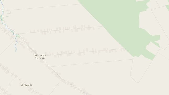 Powiększenie okolic Betlejem - Google Maps