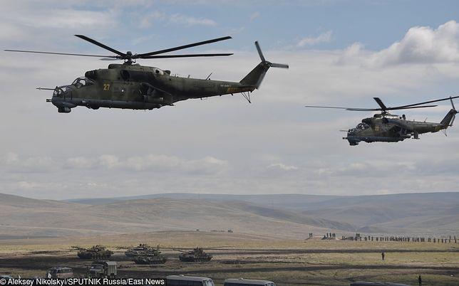 Śmigłowce Mi-24